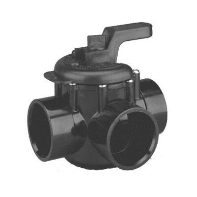 "Pentair 263037 1.5"" x 2"" 3-Way Pool Diverter Valve"