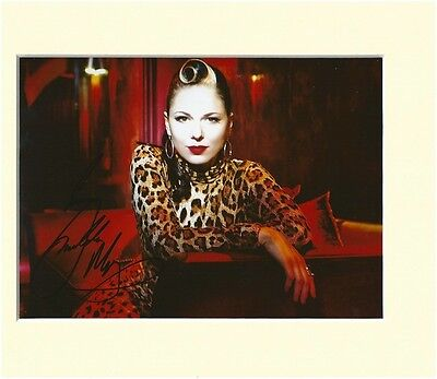 IMELDA MAY PP MOUNTED 8X10 SIGNED AUTOGRAPH PHOTO