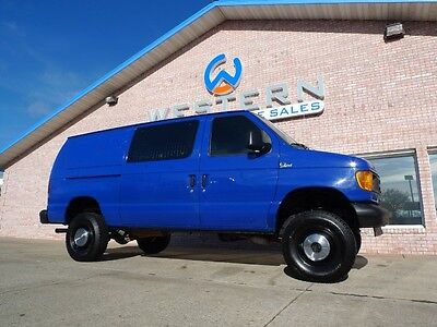 Ford : E-Series Van Quigley 2005 ford e 250 quigley 4 x 4 cargo van 4 wd