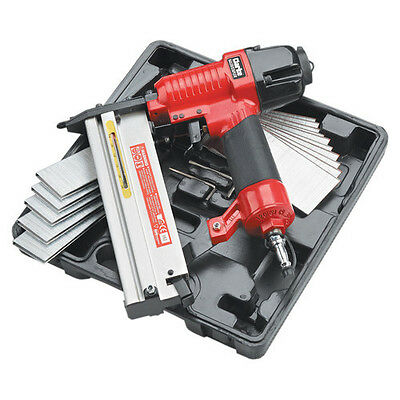 Clarke CSN1D Air Nail Gun kit - Staple Gun Kit 1000 Nails & 1000 Staples