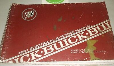 1991 Buick Park Avenue/park Avenue Ultra Electrical Systems Manual