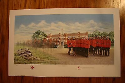 The Graduation RCMP James Lumbers Signed & Numbered Limited Collectors Edition