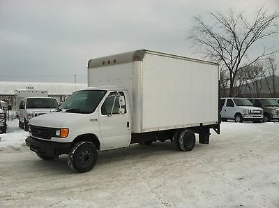 Ford : E-Series Van Commercial 2005 ford e 350 box truck commercial cutaway 5.4 l v 8 power lift warranty