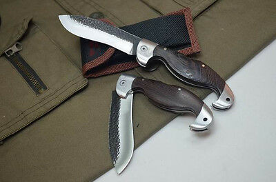 Great Tactical Pocket Saber Camping Fishing Hunting Rescue Folding Knife NEW M27