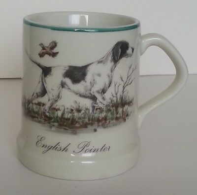 English Pointer Coffee Cup Mug Hunting Dog Illustration Tapered Base