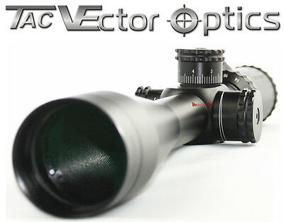 Vector Optics Sentinel Tactical 10-40x50SF Target Shooting Riflescope MP Reticle