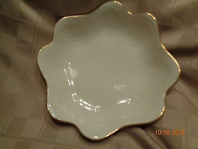 "Lenox Gold Trimmed ""Saybrooke"" Decorative Bowl/Candy Dish"