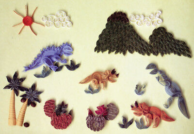 Lake City Craft Quilling Kit - Prehistoric Times