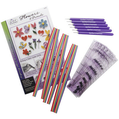 Quilled Creations Class Pack Kit - Flowers & Friends