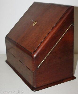 Antique Victorian Writing Slope Stationery Box - FREE DELIVERY PL661