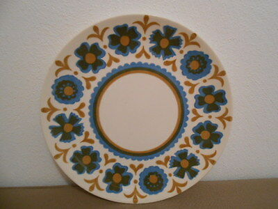 Vintage Royal-Ironstone Plates By Royal China-Flower Dance Pattern(Set of 6)