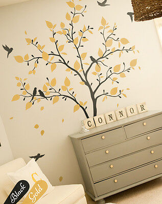 Large tree wall decal Baby Nursery wall Sticker Wall Art decorations KW005_2