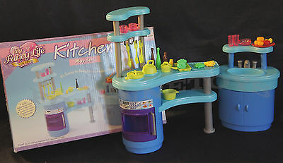 NEW FANCY LIFE DOLL HOUSE FURNITURE Kitchen Playset(2916)
