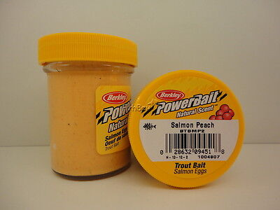 Berkley Trout PowerBait Natural Scent - Salmon Peach