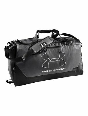 Under Armour UA Hustle Storm MD Duffle Bag - Graphite - FAST, FREE SHIPPING