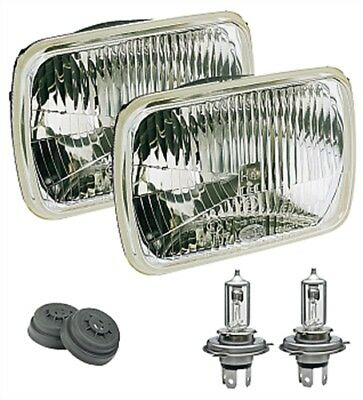 Hella 003427811 Halogen Conversion Headlamp Kit Includes 2 Lamps Rectangle