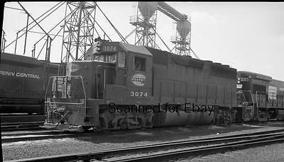 ORIGINAL PHOTO NEGATIVE-Railroad New York Central #3074 Selkirk NY July 1970