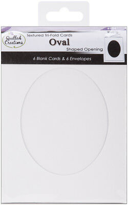 Quilled Creations - Cards & Envelopes Oval
