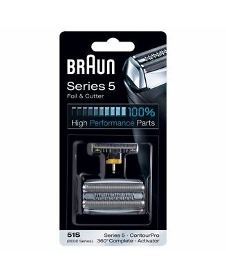 New Braun Series 5 51 S Foil Cutter Shaver Replacement Part 51 S 81253272 Seri