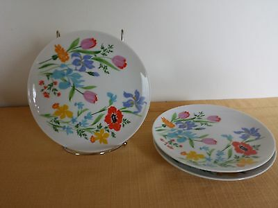 Heinrich H and Co. PRIMAVERA Bread Plate Selb Multicolor Flowers Replacement