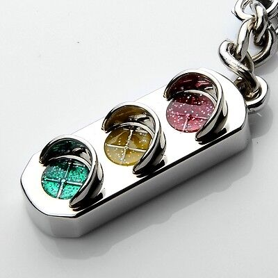 Creative mini-simulation traffic light key chain keyring exquisite gift