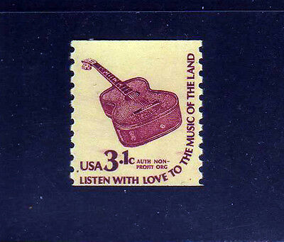 ESTADOS UNIDOS/USA 1979 MNH SC.1613 Guitar