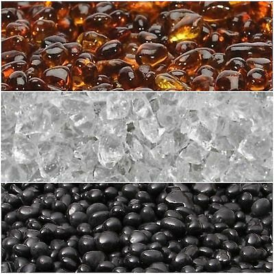 10lbs Glass Pebbles Multiple Colors to Choose for Fire Pits and Fire Place