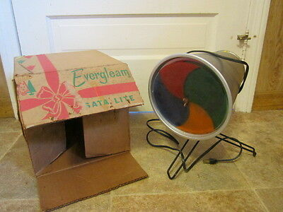 Vintage Aluminum Indoor Projector made by Evergleam