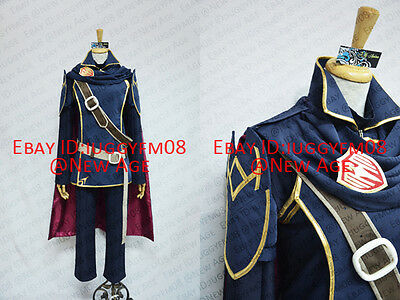 Fire Emblem: Awakening Lucina Cosplay Costume Cloak Trousers Headband Badge Belt