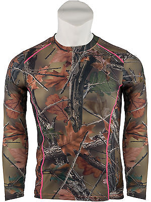 Women's Camo Impulse 4 Way Stretch Active Performance  L/s T-Shirt- Camouflage