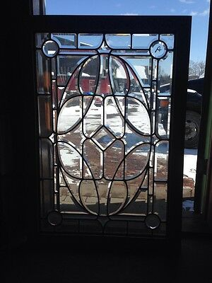"Sg 120 For All The Bevel Antique Window 30"" X 43"""