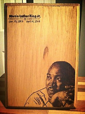 Dr. Martin Lither King Jr Plaque