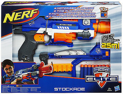 Nerf N-Strike Elite XD Stockade + Shoulder Stock + 10 Elite Darts