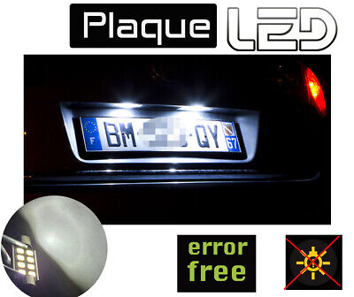 TIGUAN  Ampoules LED Blanc Plaque immatriculation Anti erreur ODB License plate