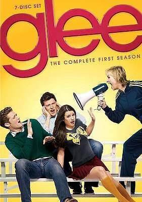 Glee: The Complete First Season (DVD, 2010, 7-Disc Set) Free Shipping!
