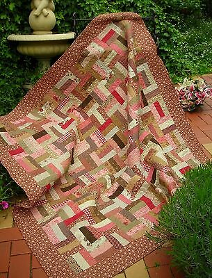Quilting Sewing Quilt Pattern Sally Giblin Rivendale Collection RASPBERRY JAM