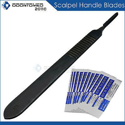27 Pcs Gold Handle Student Dissection High Grade Kit+Scalpel Blades #21