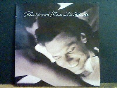 STEVE WINWOOD  Back In The High Life    LP  Lovely copy !!