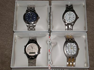 LOT OF 4  MANHATTAN BY CROTON WATCHS BRAND NEW