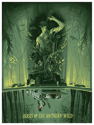 Beasts of the Southern Wild Poster Rich Kelly Oscars Academy Gallery 1988 movie
