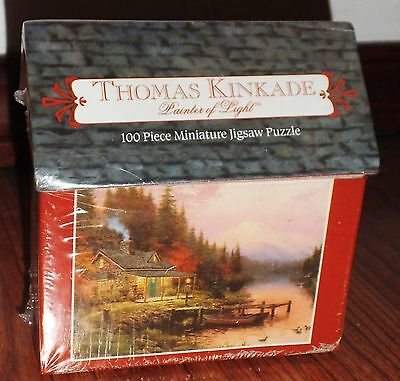 "Thomas Kinkade  ""The End Of A Perfect Day"" Jigsaw Puzzle,1998, Boys & Girls"