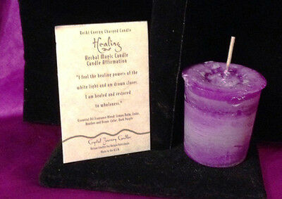Healing Herbal Votive Candle