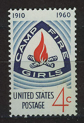 ESTADOS UNIDOS/USA 1960 MNH SC.1167 Camp Fire Girls