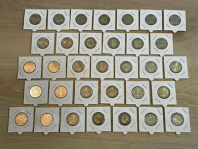 Lot Luxembourg 2004 A 2015 - 19 Pieces - 2 Euro Commemoratives Neuves