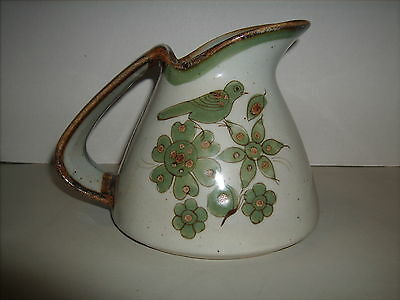 E / Palomar Pottery Pitcher Mexican Hand Crafted by Master Artisans