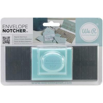 We R memory keepers Envelope Notcher magnetic punch 71344-9