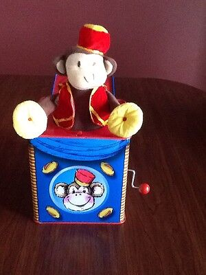 Bolz MONKEY Jack In The Box Childrens Musical Toy Made In Germany