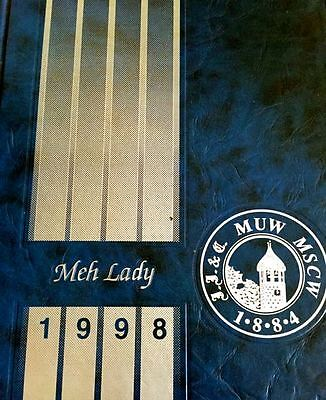 1998 MISSISSIPPI UNIVERSITY for WOMEN yearbook MEH LADY ~very fine used