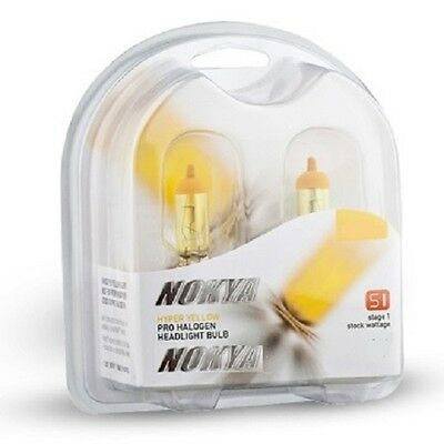 New H11 Nokya Hyper Yellow Headlight Fog Light Bulb NOK7618 Halogen Bulb S1