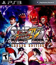 PLAYSTATION 3 PS3 GAME SUPER STREET FIGHTER IV ARCADE EDITION BRAND NEW SEALED